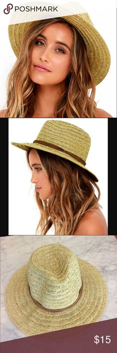 Billabong straw hat Natural Straw hat. Perfect for a sunny day at the beach  or 609a07b5c2fa