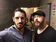 Barrett and Sheamus