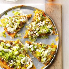 Dill Pickle Hamburger Pizza Recipe -My husband's favorite foods are pizza and cheeseburgers, so I combined the two in a pizza with mayo and dill pickle juice topping. People who try it start laughing because it's so good. —Angie Zimmerman, Eureka, Illinois
