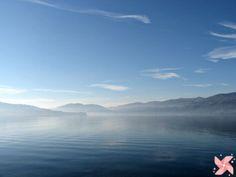 #aiquattroventi - Il Lago Maggiore visto da Ispra (Lombardia, Italia)