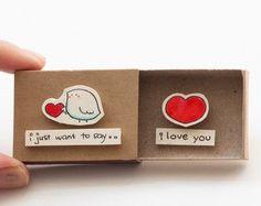Cute Love Card / scheda di anniversario / piccolo di 3XUdesign