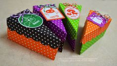 Gallery Projects - Packaging - Two Peas in a Bucket Merida, Halloween Cakes, Halloween Ideas, Cake Packaging, Trick Or Treat Bags, Cake Boxes, Craft Projects, Soap, Gift Wrapping