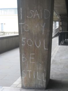 T.S. Eliot - I said to my soul be still