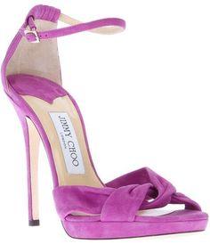 Jimmy Choo Jada Sandals Purple #immychooheelsaccessories #jimmychooheelspurple