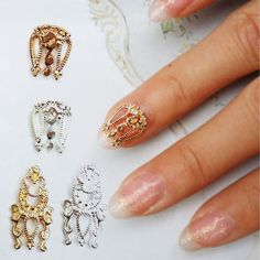 Cheap jewelry anvil, Buy Quality jewelry white directly from China glitter food Suppliers: 10pcs DIY 3D Alloy Nail Art tip Decor Glitter Slices Decoration Nail Jewelry 100% Brand New and high quality Material :