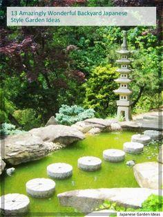 *Relaxing Japanese Style Garden Inspirations* | Japanese Garden Landscaping  | Pinterest | Backyard Garden Ideas, Garden Inspiration And Garden  Landscaping