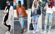 Guia do jeans destroyed: 20 looks para te inspirar a usar a calça da vez - Moda - CAPRICHO