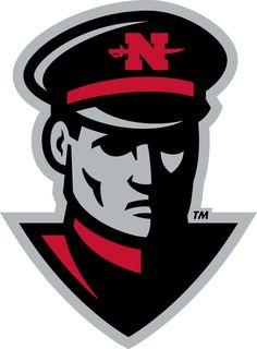 Nicholls State Colonels Alternate Logo - The head of a Colonel
