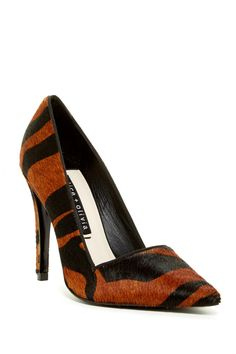 df4d3476d778 alice + olivia - Makayla Genuine Calf Hair Pump at Nordstrom Rack. Free  Shipping on