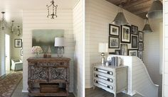 best Ideas for white wood paneling ceiling plank walls Provence, White Wood Paneling, Home Goods Decor, Home Decor, Plank Walls, Sweet Home Alabama, Coastal Living, Coastal Cottage, Interior Inspiration