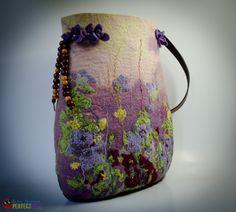 Women designer handbag Glade of Dreams boho style by perfectfelt, $190.00