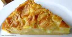 Bolo de maçã cremoso (Creamy apple cake)