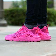 Nike Air Huarache Ultra Pink Women Shoes size us