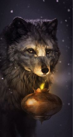 Image via We Heart It https://weheartit.com/entry/100891010/via/9227100 #cute #fantasy #nice #wolf