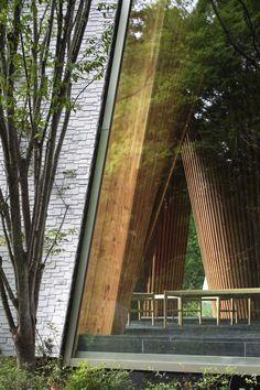 koji fujii nacasa and partners inc hiroshi nakamura nap sayama forest