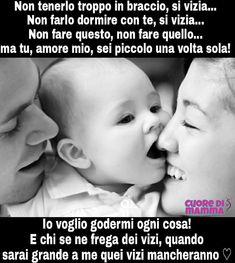 Cuore di Mamma | Le Migliori pagine FB Family Rules, I'm Pregnant, Thing 1, Mamma Mia, Love Words, Little Princess, Kids And Parenting, Nostalgia, Smile