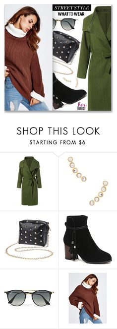 Street Style by dressedbyrose on Polyvore featuring Rebecca Minkoff and Ray-Ban