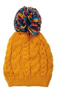daf5a0d5a80 Louche Dorris Bobble Hat by flora Bobble Hats