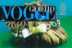 ROSSO prezioso su Vogue Gioiello di maggio 2013