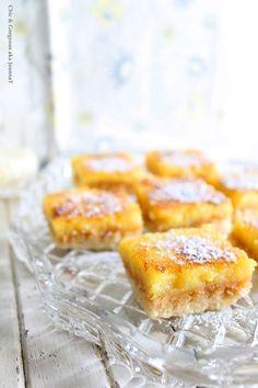 Chic & Gorgeous Treats: Tangy Lemon Almond Slice & A Sunshine Award