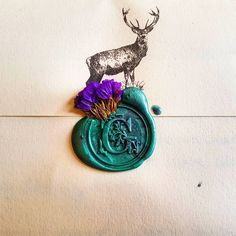 Fancy just got teal. Wax Seal Stamp, Letter Writing, Wedding Stationary, Mail Art, Wedding Cards, Stationery, Arts And Crafts, Teal, Fancy