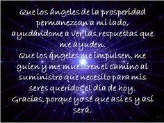 #UniversoDeAngeles Oración para la prosperidad.
