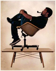Ice Cube celebrates the designs of Charles + Ray Eames