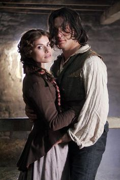 Cathy ( Charlotte Riley) and Heathcliff    (Tom Hardy) - WH 2009