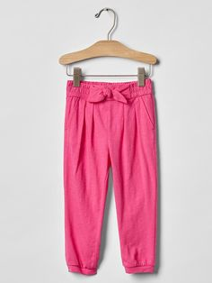 Shop toddler leggings, joggers, and more pants from Gap. Toddler girl leggings are available in full-length, capris, and shorts in fun prints and colors. Toddler Leggings, Girls Leggings, Girls Pants, Leggings Are Not Pants, Baby Mine, Baby Baby, Soft Pants, Toddler Girl Outfits, Stylish Outfits
