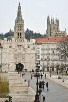 Like many of the cities and towns I encountered among the Camino, I would love to revisit Burgos. Spain Travel, France Travel, Travel Usa, Spanish Architecture, Sacred Architecture, All About Spain, The Camino, Travel Items, Spain And Portugal