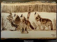 wood burning art - Bing Images