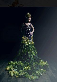 Salad Decadence 2 Food Styling, Diana, Victorian, Salad, Couture, Dresses, Fashion, Vestidos, Moda
