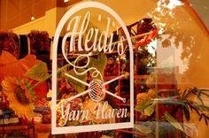 Heidi's Yarn Haven, in Ukiah, California.  I spend way to much money here.  Love it.