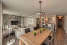 Projet Domiciliare - Condominiums St-Hilaire La Rive, Laval, Loft, Construction, Condominium, Kitchen Island, Dining Table, Furniture, Home Decor