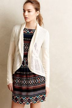 Brushed Horizons Cardigan #anthropologie