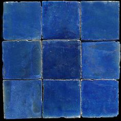 Handmade Moroccan tiles - straight from my tile dreams!