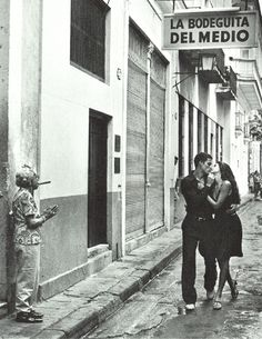La Bodeguita del Medio.  Birthplace of the Mojito and one of Ernest Hemingway's favorite places