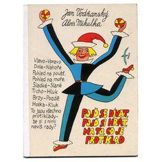 チェコの絵本作家(人物別) Alois Mikulka / アロイス・ミクルカ 「Pojd se divat, pojd si hrat, na to, co je protiklad」1986年