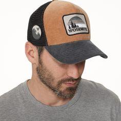 Tan James Perse Yosemite Trucker hat Mens Trucker Hat ddc56cbafac5