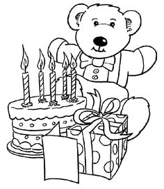 Happy Birthday Coloring Pages . 30 Happy Birthday Coloring Pages . 25 Free Printable Happy Birthday Coloring Pages Teddy Bear Coloring Pages, Happy Birthday Coloring Pages, Easter Colouring, Coloring Pages For Girls, Christmas Coloring Pages, Coloring Pages To Print, Free Coloring Pages, Printable Coloring Pages, Coloring Worksheets