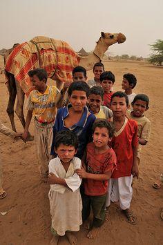 Rashaida camp, Sudan