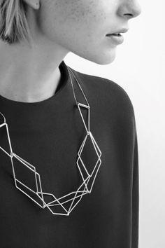 Flexible tube necklace
