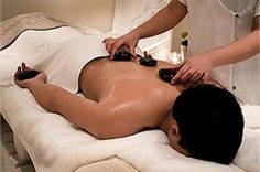 The Spa at The Twelve Apostles Hotel, Hot stone massage