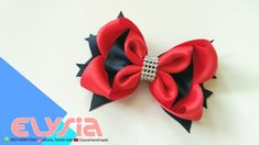 Laço Heloi Boutique  Heloi Boutique #Ribbon Bow  DIY by Elysia Handmade