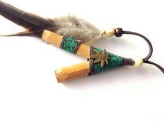 Kuripe, Lady Maria Dainty Kuripe, Self Applicator Kuripe. Tobacco Snuff, Rapé. Tobacco Pipe for Rapeh, Shamanic Snuff with Tribal Pouch by AUMBRATRIBE on Etsy