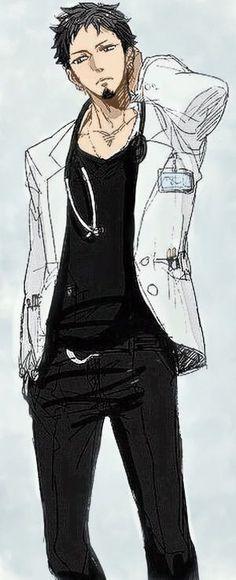 Trafalgar Law _One Piece Anime One Piece, Sanji One Piece, Trafalgar Law, Hot Anime Boy, Anime Guys, Itachi, Logo Inspiration, Character Inspiration, Jean Bart