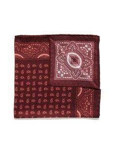 Daniel Dolce Mini Paisley Pocket Square