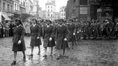 The 6888th Postal Operations Battalion march in in Jean d'Arc Square in France under the command of Major Charity Adams. Postal operations had not kept up with combat operations resulting in a huge backlog of mail in the European theater. While serving as Battalion Commander, Charity Edna Adams Earley was promoted to Lt. Colonel. Earley joined the Women's Army Auxiliary Corps (WAAC) in 1942. She graduated from the first Officers Candidate Class at Ft. Des Moines, IA. She was the first black…