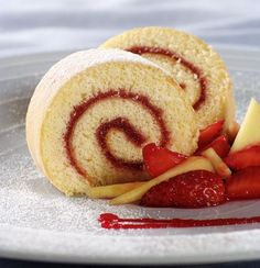 HOW TO: Make a cake roll.
