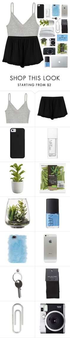 """600,000 LIKES"" by feels-like-snow-in-september ❤ liked on Polyvore featuring H&M, Boohoo, NARS Cosmetics, Crate and Barrel, Threshold, Skinnydip, CASSETTE, Maison Margiela, Fujifilm and SELECTED"